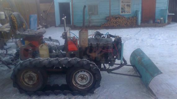 Трактор своими руками на гусеничном ходу