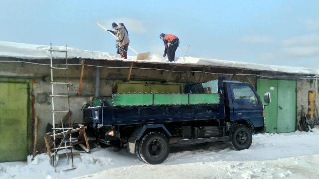 Вывоз снега и мусора с магазинов, гаражей, частных домов,  грузчики, квитанции работаем без выходных 74-21-21