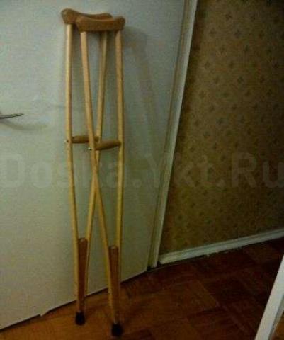 Как сделать костыли в домашних условиях